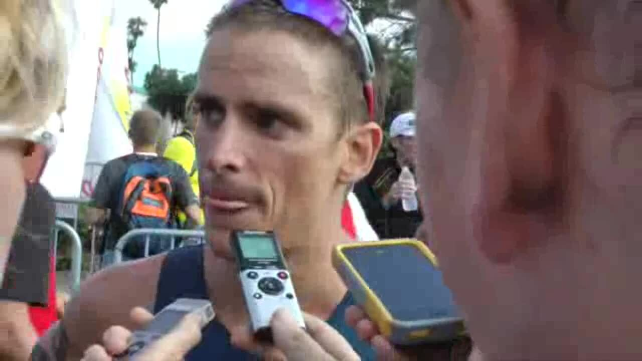 Manuel Huerta on qualifying for the US Olympic Team after the ITU World Triathlon San Diego