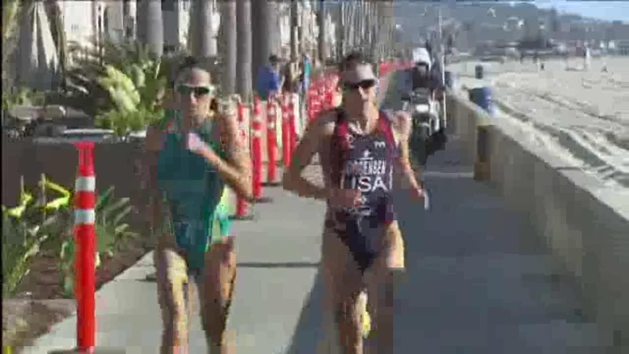 2013 Omega Wave World Triathlon San Diego Elite Women Highlights