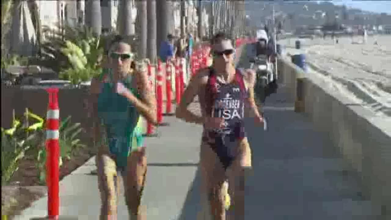 2013 Omega Wave World Triathlon San Diego Elite Women Highlights