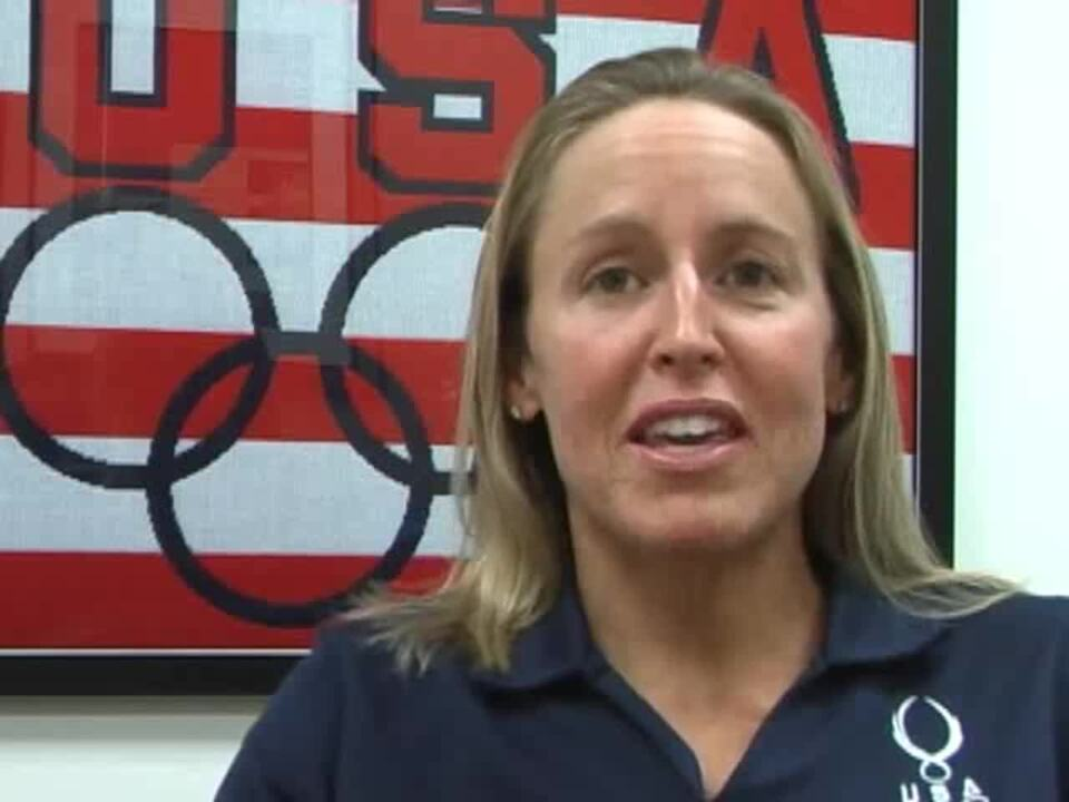 Julie Swail Ertel 2008 Pre-Beijing Olympics Interview