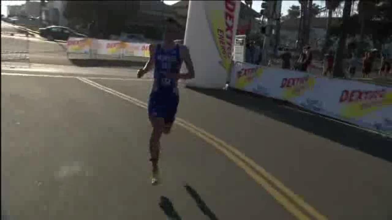 2013 Omega Wave World Triathlon San Diego Elite Men Highlights
