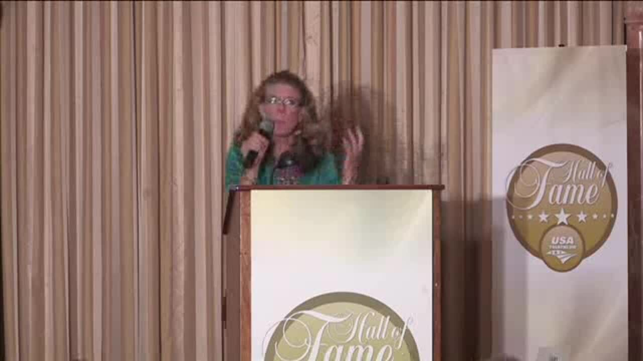 Missy LeStrange Induction Speech_USA Triathlon Hall of Fame Class of 2012