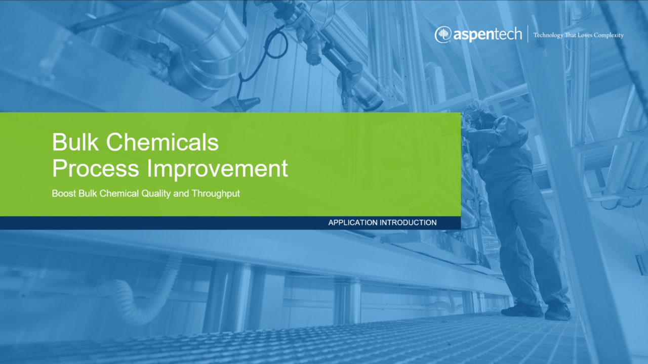 Bulk Chemical Process Improvement