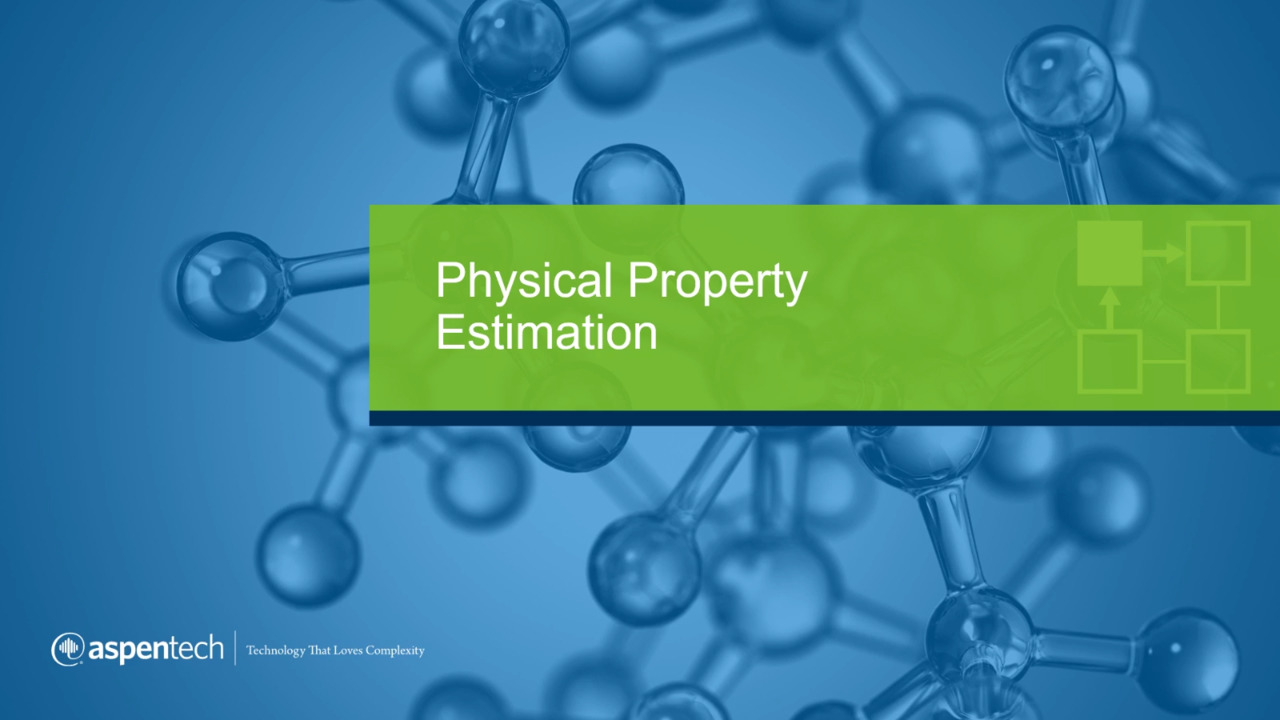 physical property estimation application overview