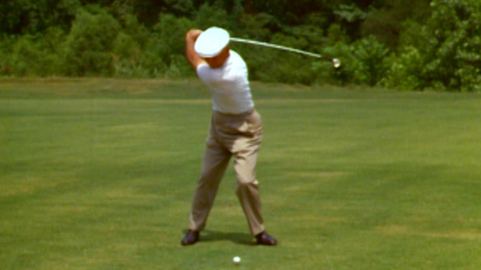 Ben Hogan's golf swing through the years