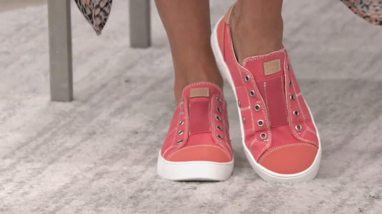 Spenco Orthotic Canvas Slip-On Shoes
