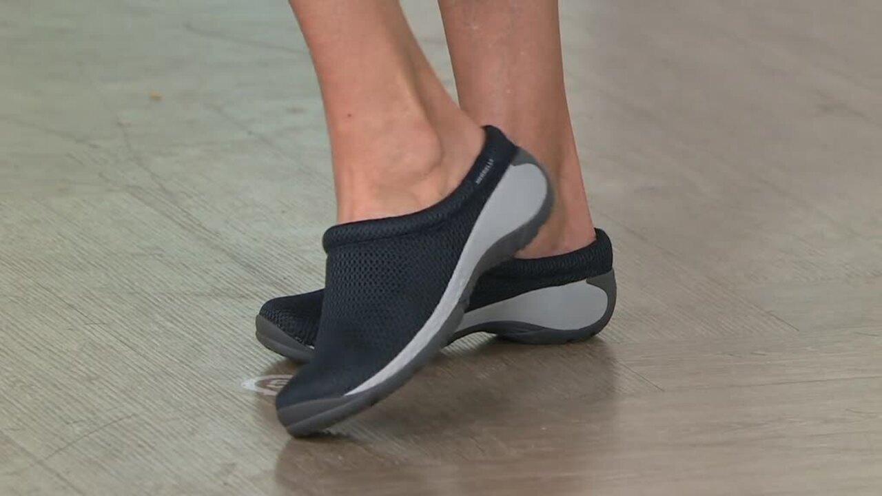 Merrell Mesh Slip-on Shoes - Encore Q2