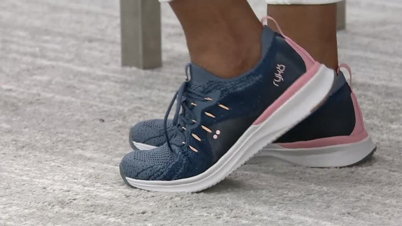 Ryka fEMPOWER Knit Lace-Up Sneakers