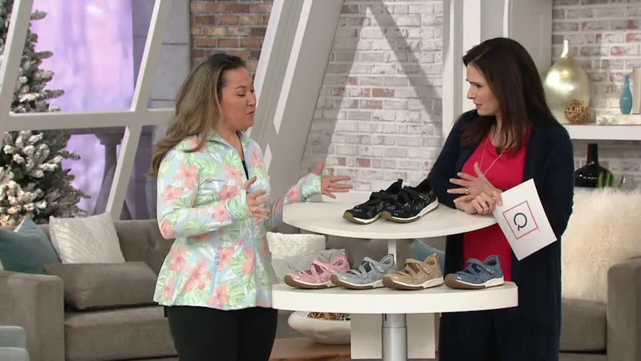 Ryka Adjustable Mesh Mary Jane Sneakers