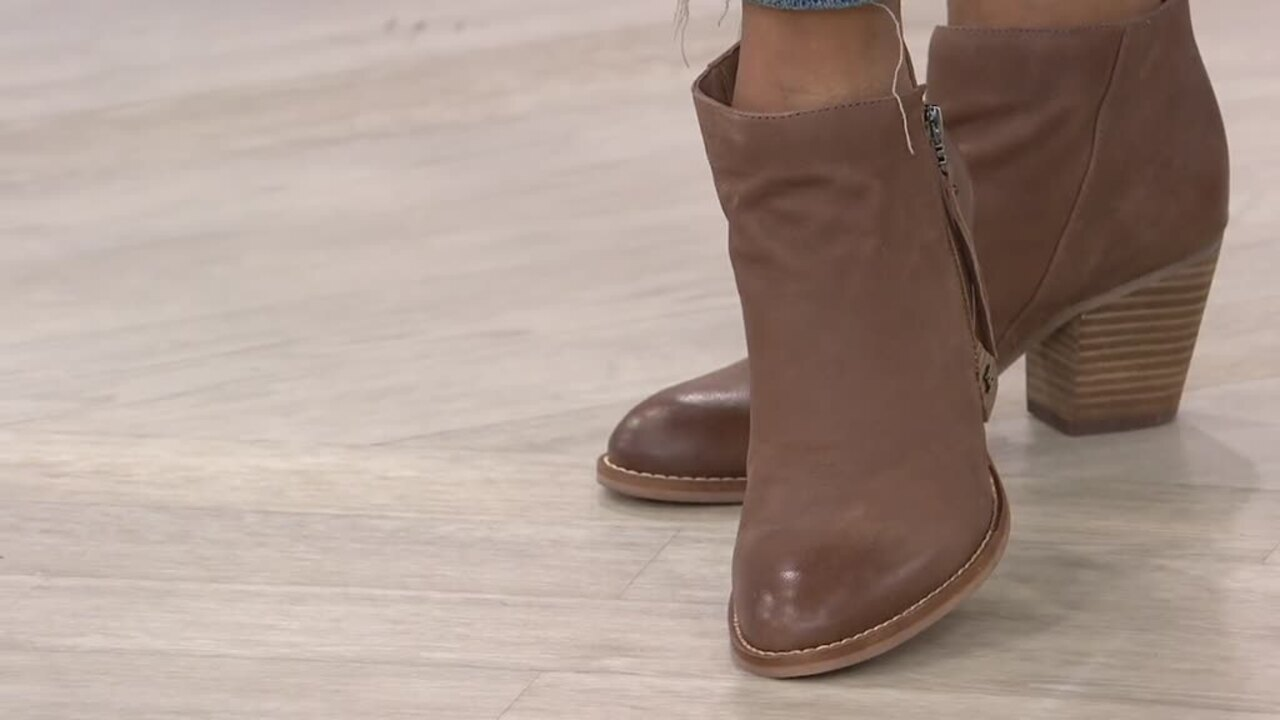Sam Edelman Leather or Suede Ankle