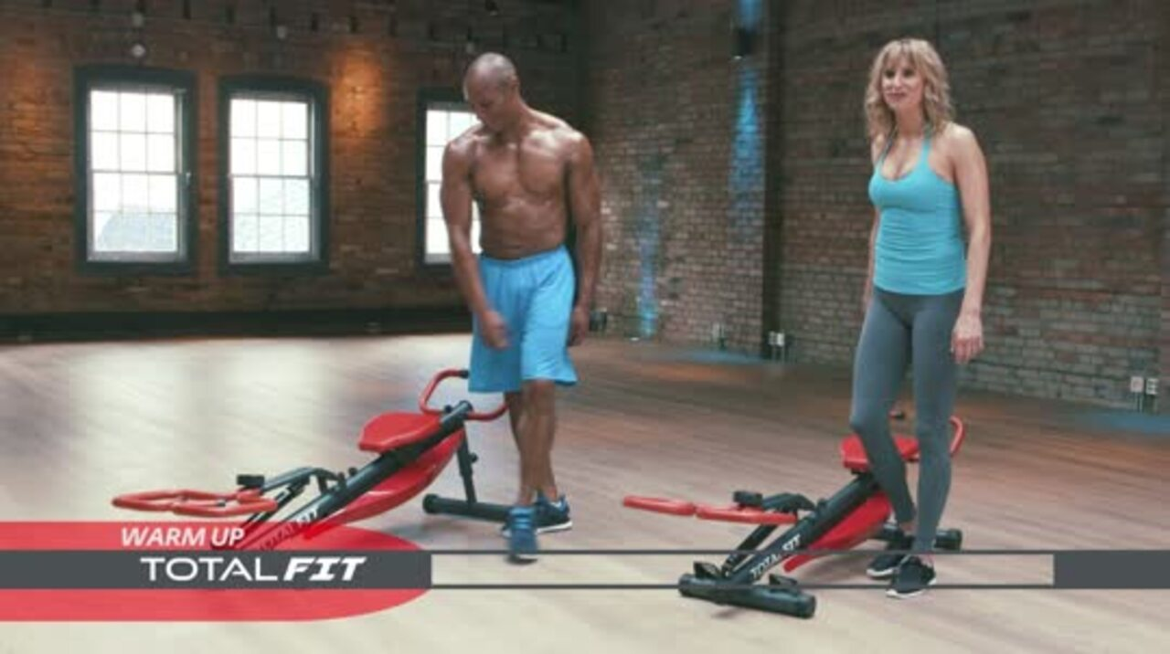 Spd Pro Total Fit 5 In 1 Body Sculptor And Rower Qvc Com