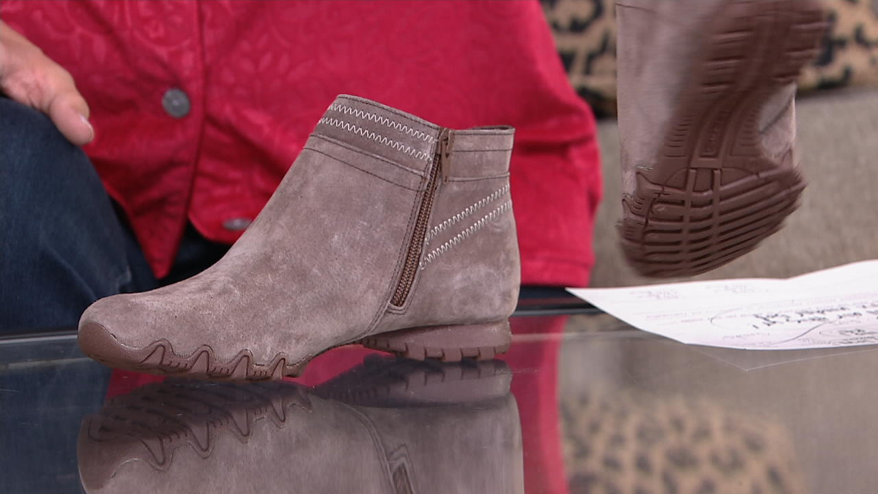 Skechers Suede Ankle Boots - Bikers