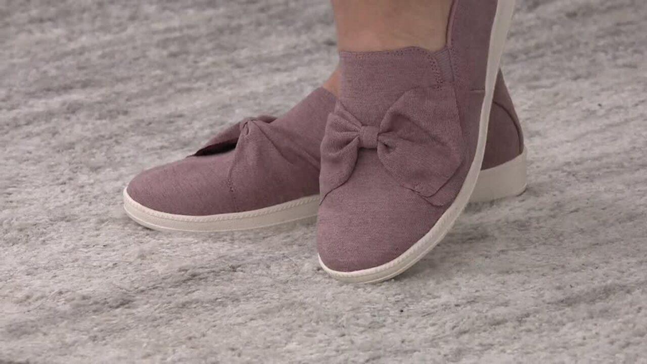 Skechers Jersey Bow Slip On Shoes