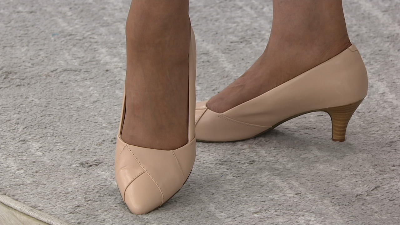 Clarks Collection Pointy Toe Pumps
