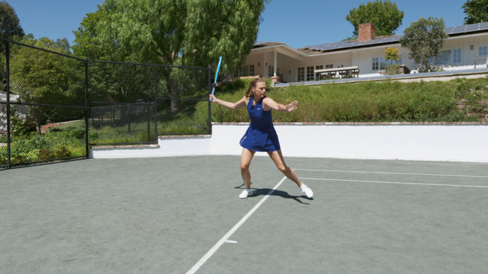 Inside-Out Forehand