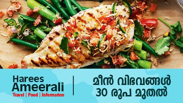 Taste of the fish at 30 Rs onwards| Kerala Tour videos|Periyar Restaurant Cochin | Harees Ameerali