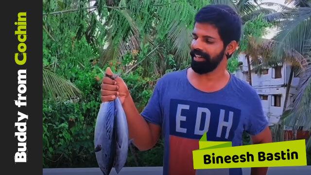 പച്ച ചൂര നാടൻ രീതിയിൽ ഗ്രിൽ ചെയ്യാൻ പോവാണ്     Buddy From Kochin