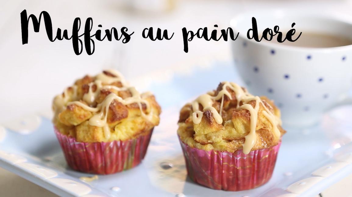 Muffins au pain doré