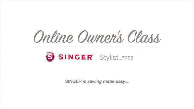 Singer Stylist 7258