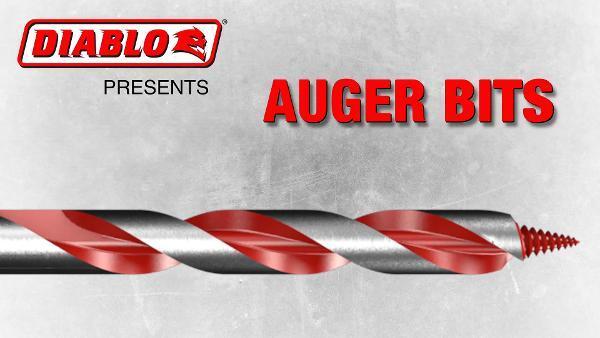 Auger Bit x 17-1//2 in Diablo by Freud DAG3090 7//8 in