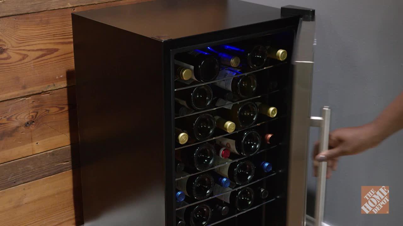 INV- 33-Bottle Compressor Wine Cooler