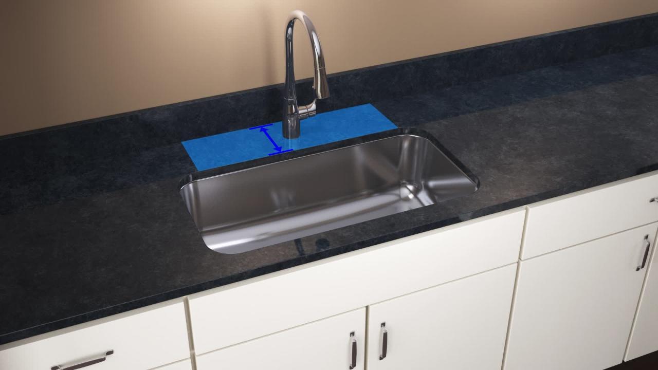 Kohler Poise Undermount Stainless Steel 33 In Double Bowl Kitchen Sink Kit K 3160 Na The Home Depot