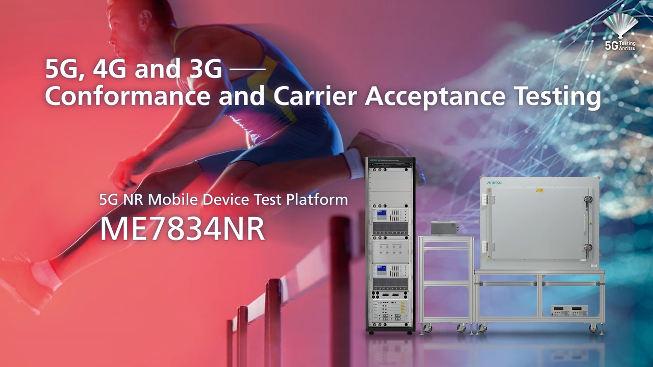 5G, 4G and 3G - Conformance and Carrier Acceptance Testing