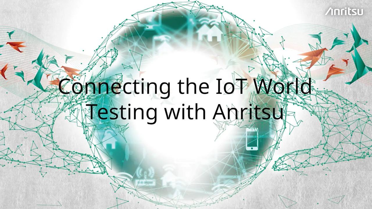IoT Testing Anritsu