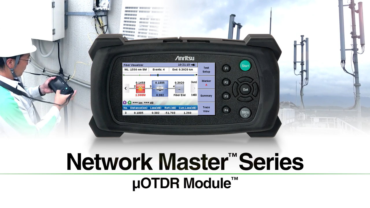 µOTDR Module - Fiber Visualizer