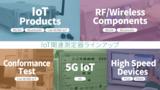 アンリツ IoT関連測定器ラインアップ