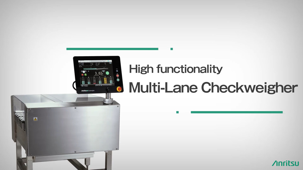 Built-In Multi-Lane Weighing System Introduction