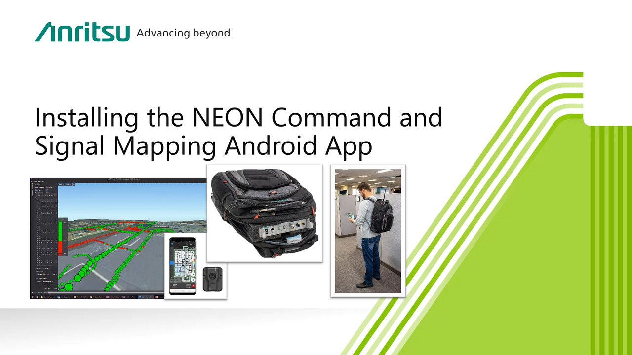 Using the NEON Command and Signal Mapping Android App