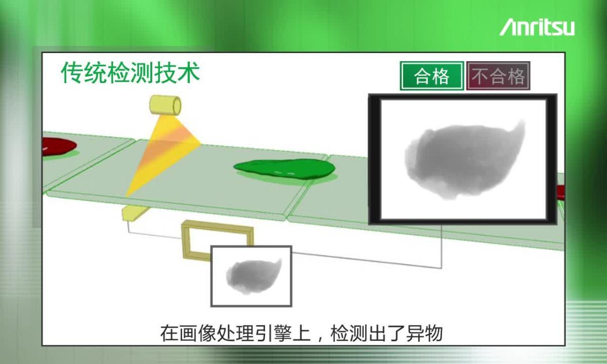 双能传感器X射线异物检测机