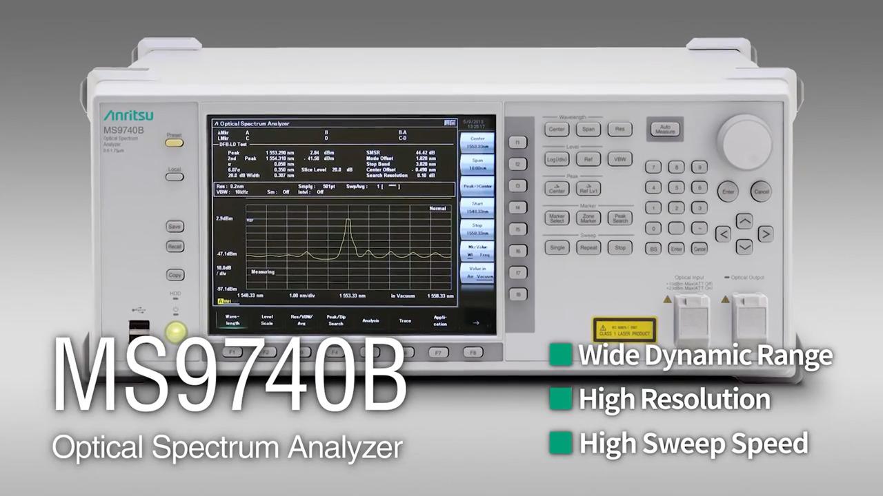 Optical Spectrum Analyzer MS9740B