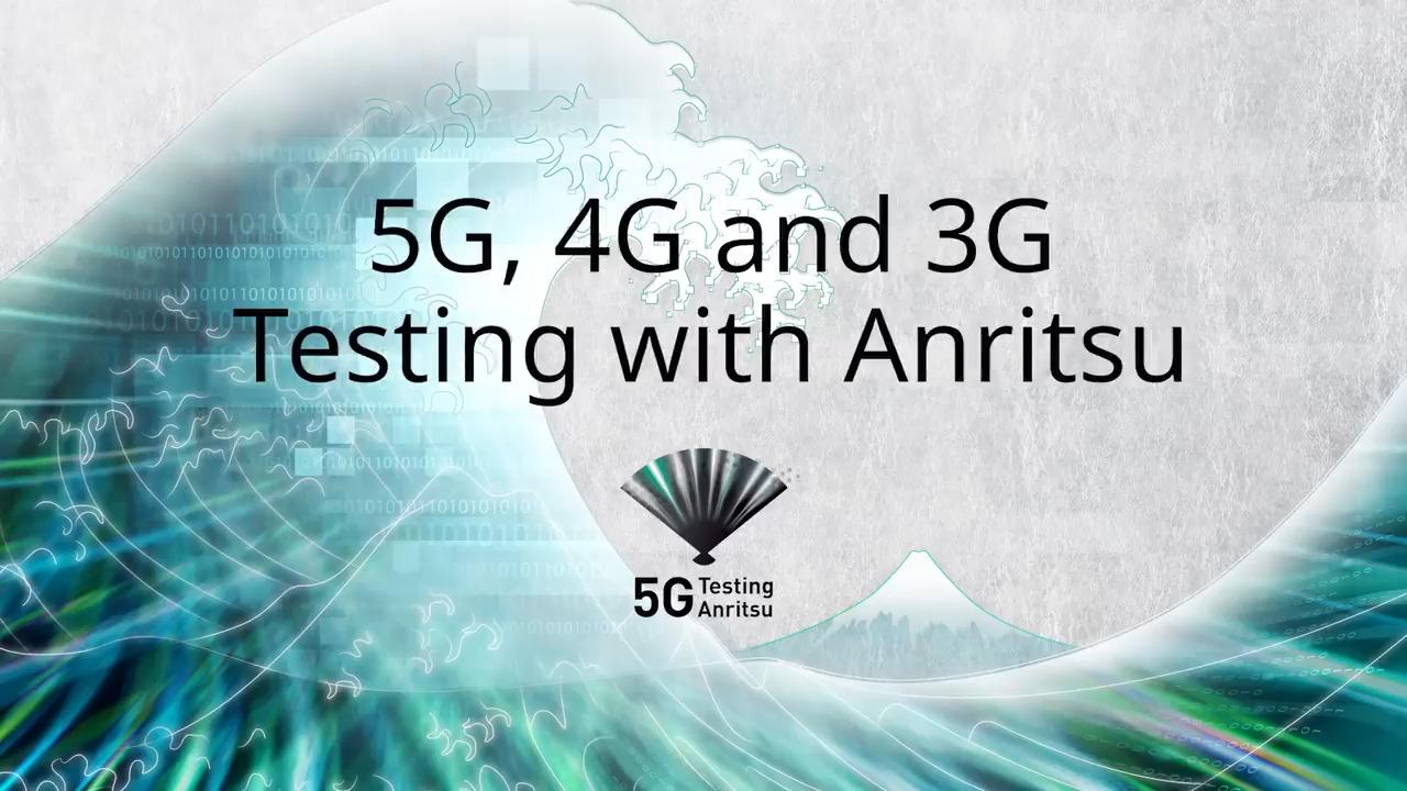 5G Testing Anritsu