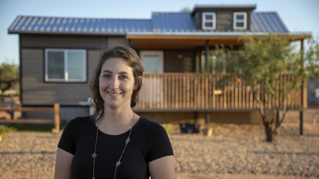 Perks for Teachers: Tiny Houses Help Educators Afford a Place to Live