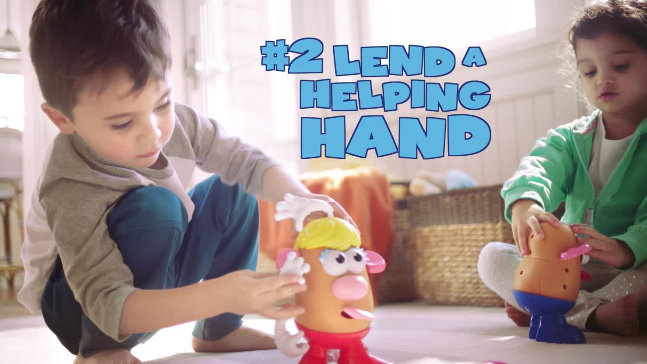 3 Life Lessons with Mr. Potato Head