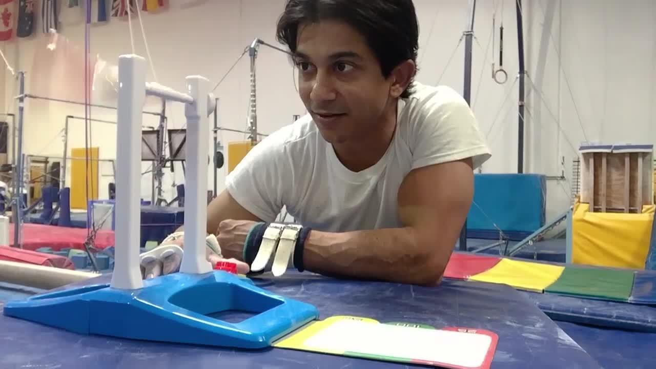 Gymnast Raj Bhavsar and Fantastic Gymnastics!