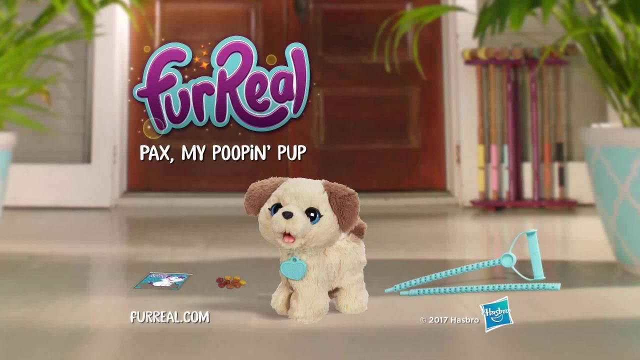 FurReal Pax My Poopin' Pup with Kami My Poopin' Kitty