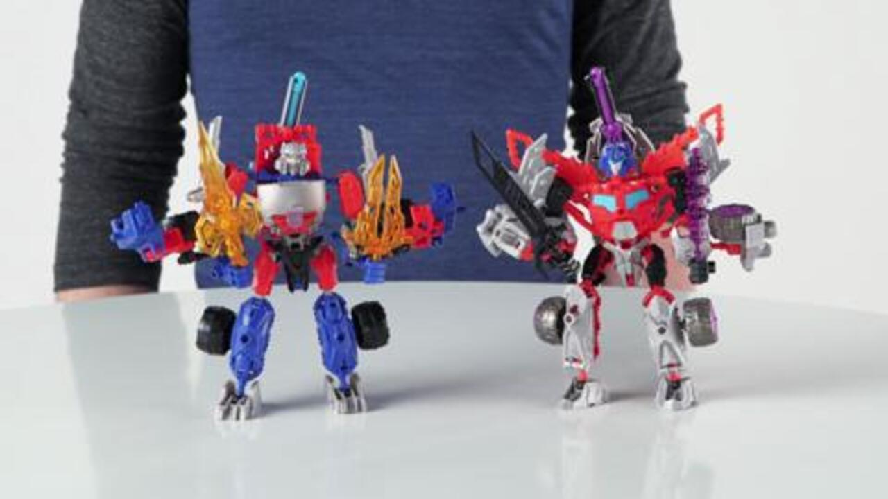Transformers Construct-Bots Ultimate Action Figure Set