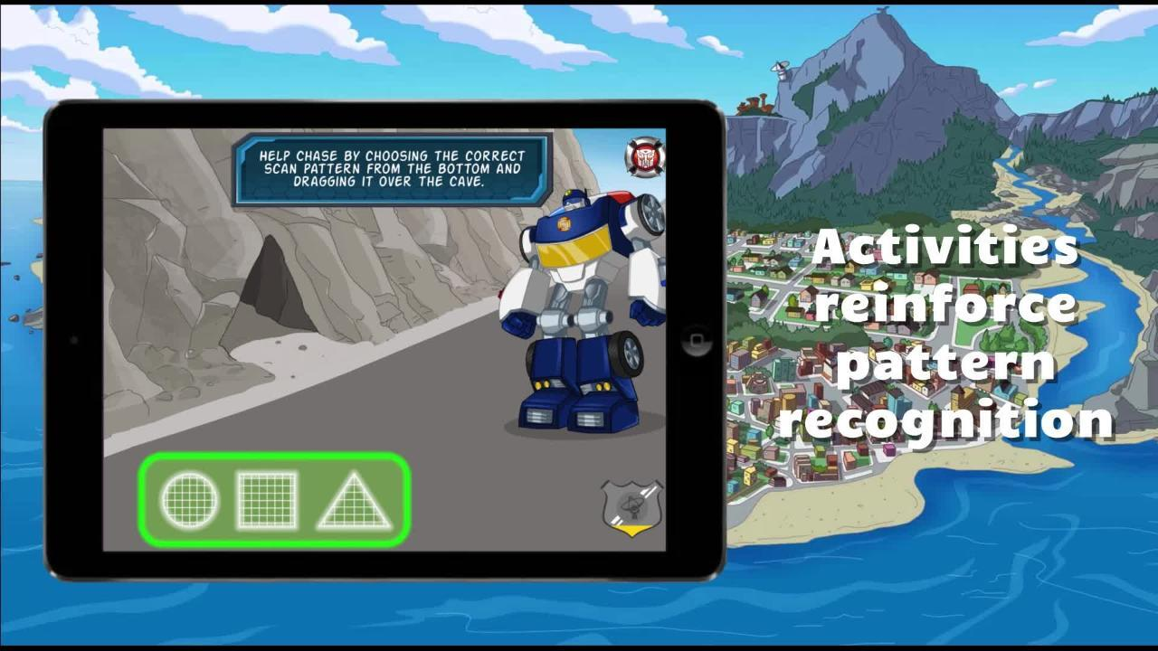 Transformers: Rescue Bots Save Griffin Rock! App Trailer