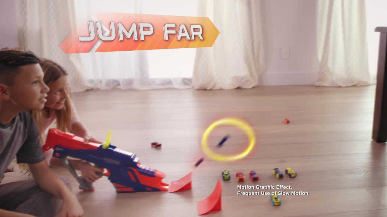 Nerf Nitro: Motorfury Rapid Rally TV Commercial