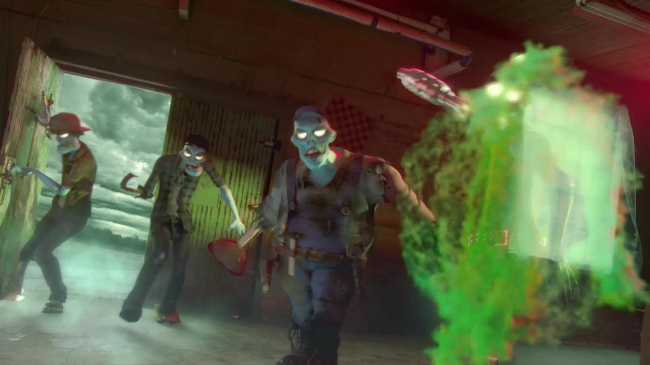 Nerf Zombie Strike Outbreaker Bow TVC