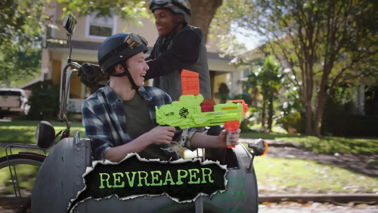 Nerf Zombie Strike: Revreaper Blaster