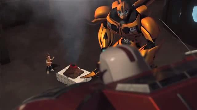 TRANSFORMERS Prime - Problems With Science - Clip