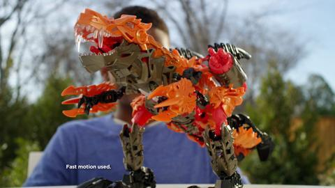 Transformers: Construct-Bots Dinofire Commercial