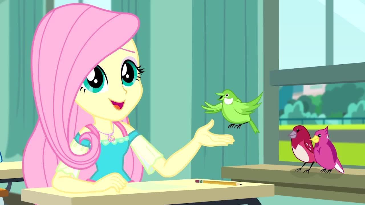 MLP: Equestria Girls Season 1 - 'A Little Birdie Told Me'