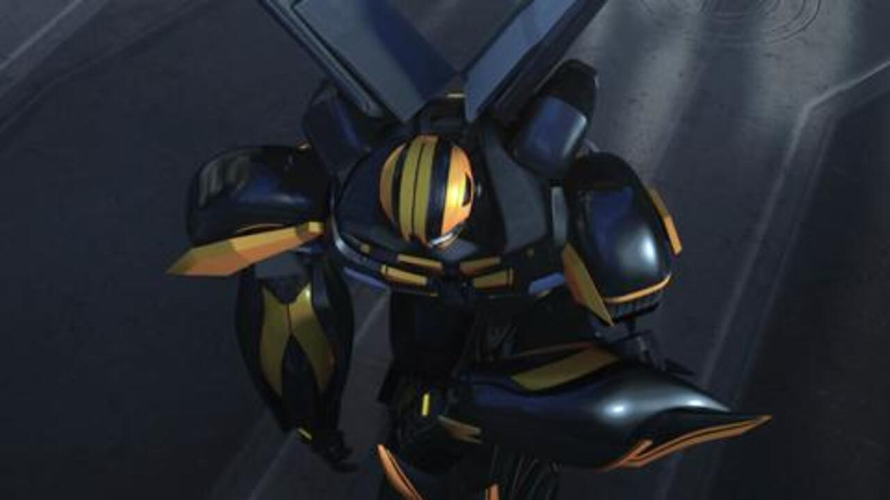Transformers Prime - Beast Hunters: Predacons Rising - Bumblebee Warrior
