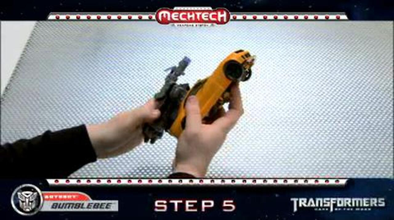 BUMBLEBEE Leader: TRANSFORMERS Movie 3 - Instructional Video