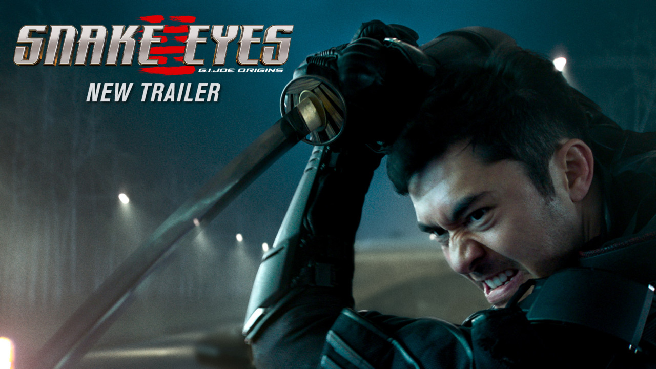 "Snake Eyes NEW Trailer |<br>&quotBehind The Mask"" (2021 Movie) <br>Henry Golding, G.I. Joe"